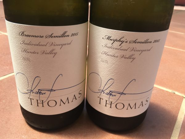 Thomas Wines Hunter Valley Semillon