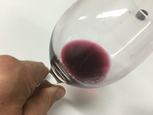 Thomson Family Shiraz. Look at the colour!