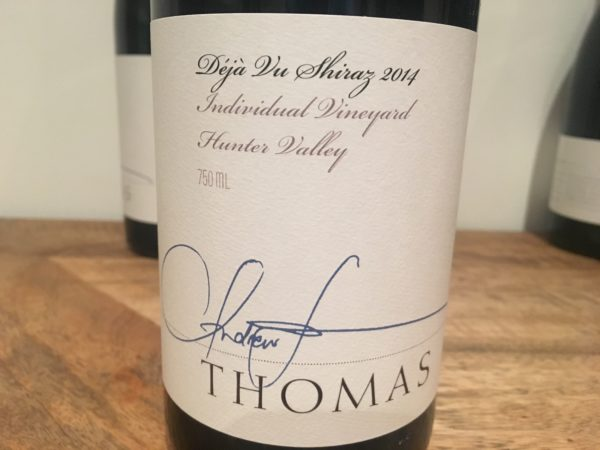 Thomas Wines Deja Vu Shiraz 2014