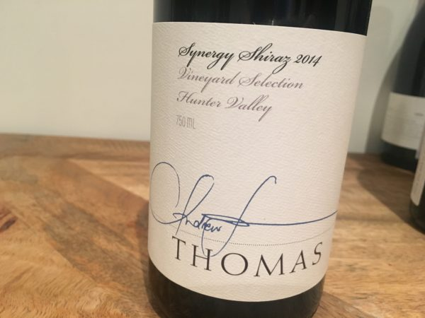 Thomas Wines Synergy Shiraz 2014