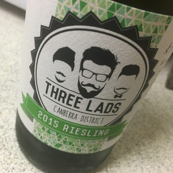 Three Lads Canberra Riesling
