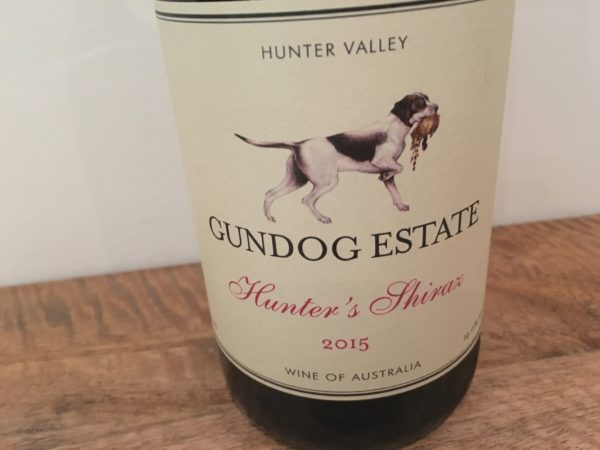Gundog Estate Hunter's Shiraz 2015