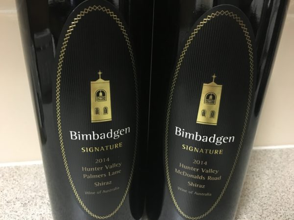 Bimbadgen Signature Series Shiraz 2014