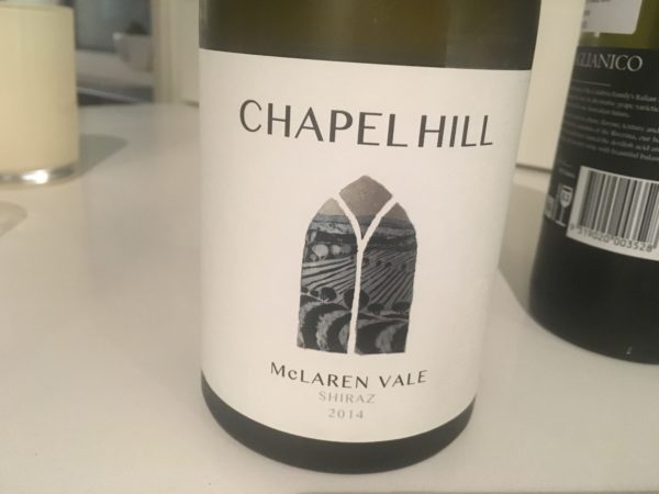 Chapel Hill Shiraz 2014
