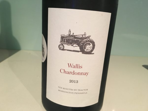 Ten Minutes by Tractor Wallis Chardonnay 2013