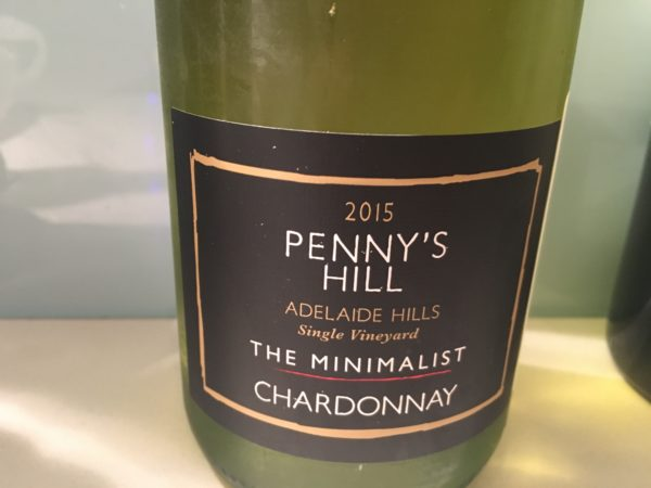 Penny's Hill The Minimalist Adelaide Hills Chardonnay 2015