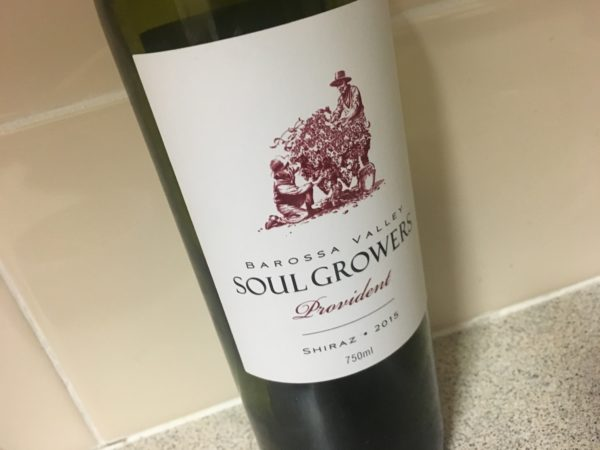 Soul Growers Provident Shiraz 2015