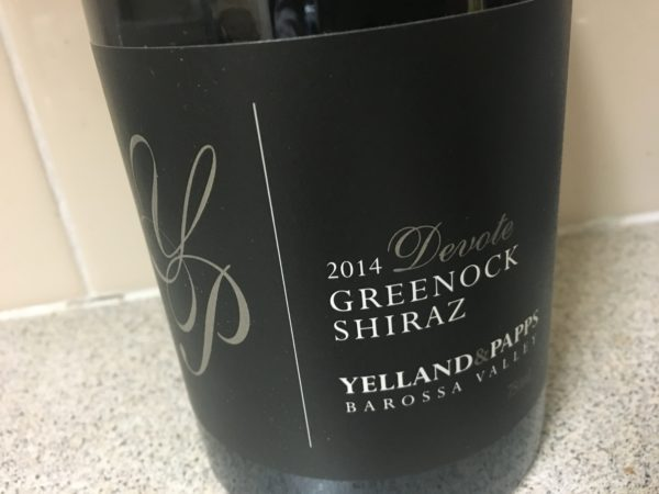 Yelland & Papps Devote Old Vine Grenache & Shiraz 2014