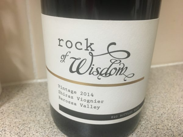 Rock of Wisdom Barossa Shiraz Viognier 2014