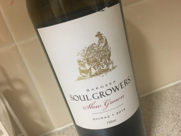 Soul Growers Slow Grown Barossa Shiraz 2014