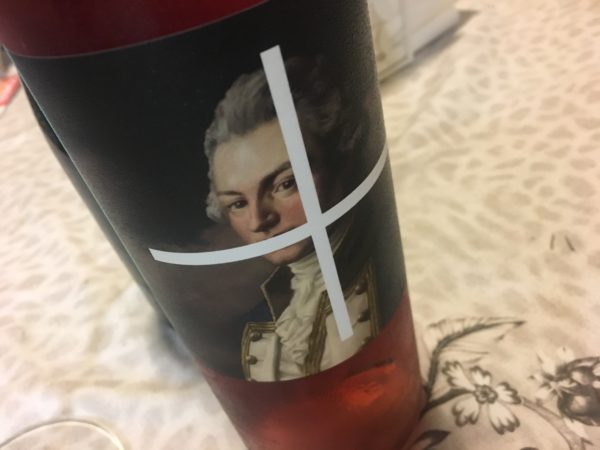 Old Jarvie The Charitable Nero d'Avola Aglianico Rosé 2016
