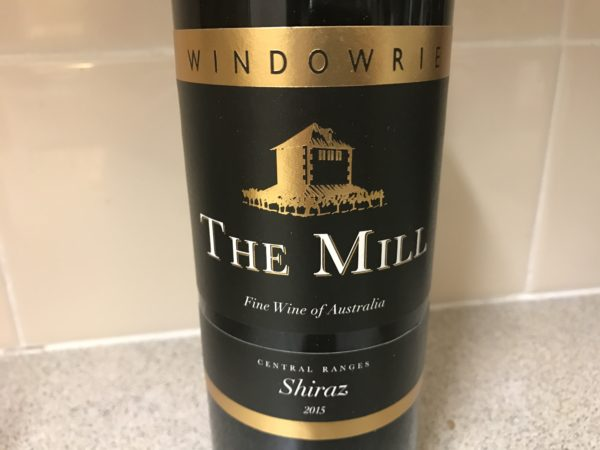Windowrie The Mill Central Ranges Shiraz 2015