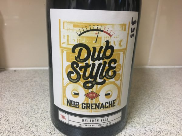 Inkwell Dub Style No.2 Grenache 2014