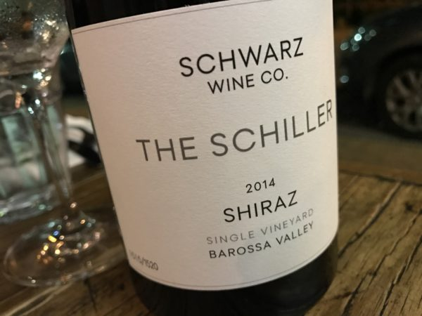 Schwarz Wine Co. The Schiller Barossa Shiraz 2014