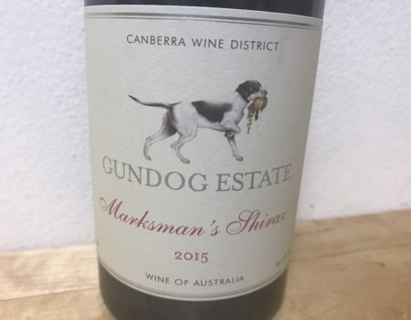 Gundog Estate Marksmans Shiraz 2015