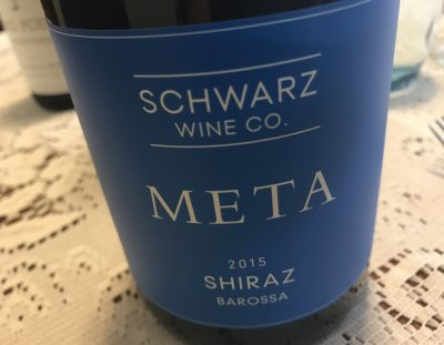 Schwarz Meta Barossa Valley Shiraz 2015