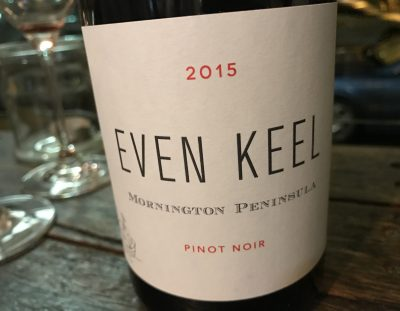 Even Keel Mornington Peninsula Pinot Noir 2015