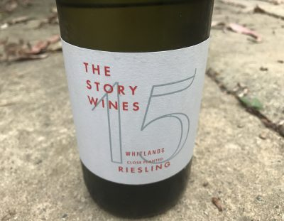 The Story Wines Whitlands Close Planted Riesling 2015