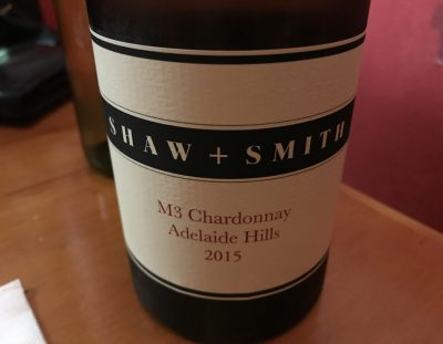 Shaw & Smith M3 Chardonnay 2015