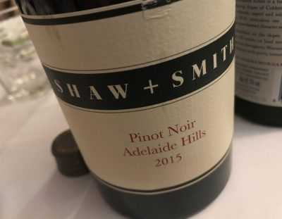 Shaw + Smith Pinot Noir 2015