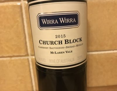 Wirra Wirra Church Block 2015 vintage