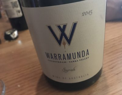 Warramunda Syrah 2015
