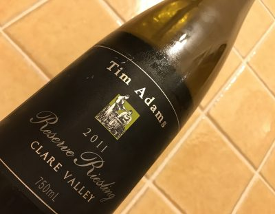 Tim Adams Reserve Clare Valley Riesling 2011