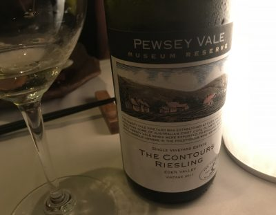 Pewsey Vale Contours Riesling 2011