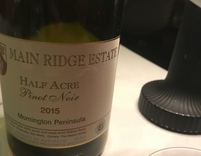 Main Ridge Half Acre Pinot Noir 2015