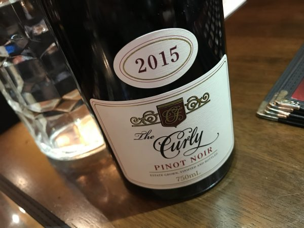 Curly Flat The Curly Pinot Noir 2015