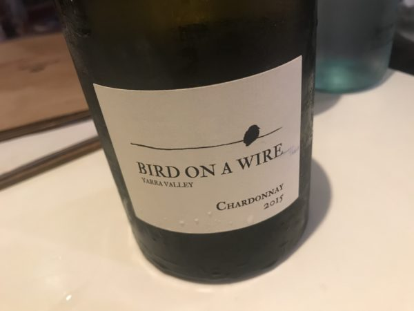 Bird on a Wire Chardonnay 2015