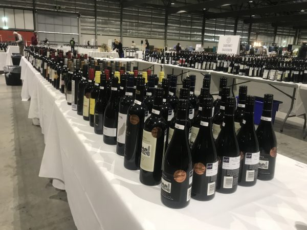 Scenes from an empty wine show