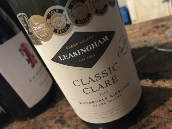 Leasingham Classic Clare Watervale Riesling 2012