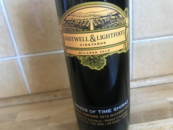 Hastwell & Lightfoot Shiraz