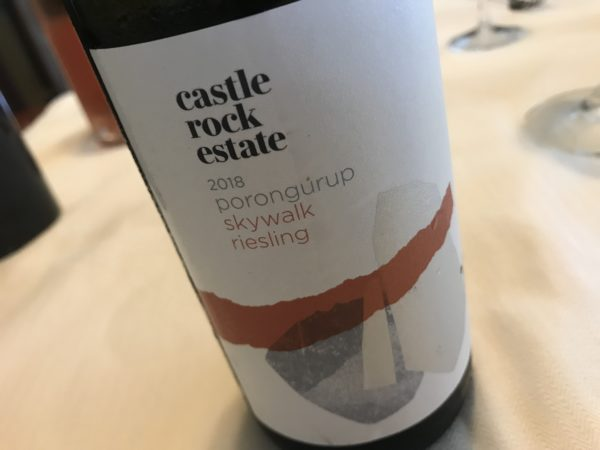 Castle Rock Estate Skywalk Riesling 2018