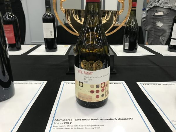 ALDI Stores One Road South Australia & Heathcote Shiraz 2017