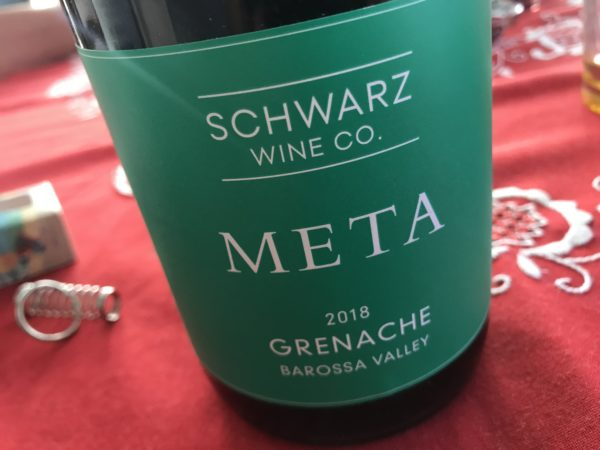 Schwarz Wine Co. Meta Grenache 2018