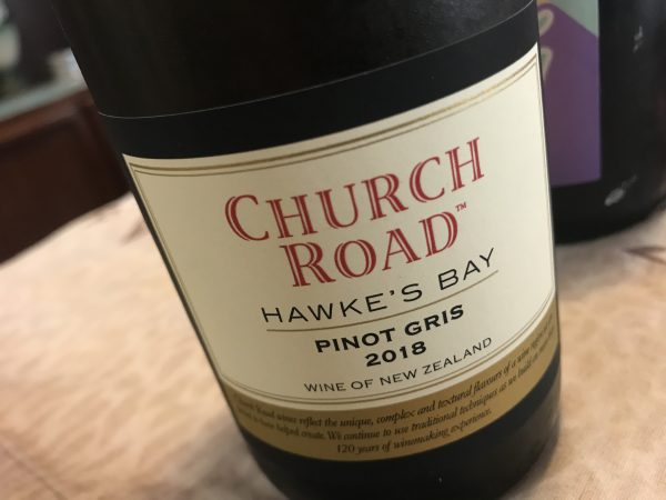 Church Road Hawke's Bay Pinot Gris 2018
