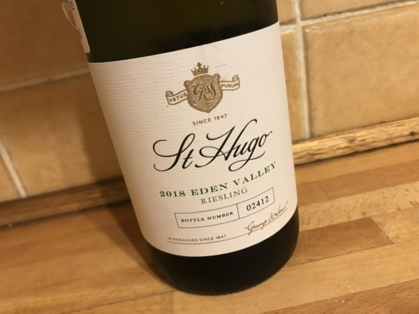 St Hugo Eden Valley Riesling 2018