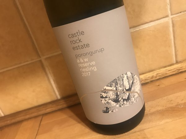 Castle Rock Estate A & W Reserve Riesling 2017
