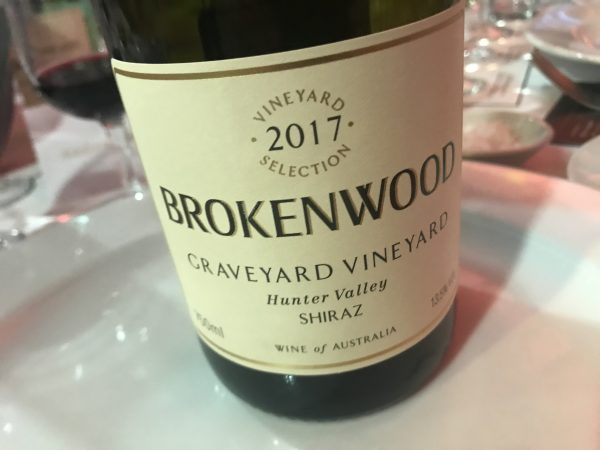 Brokenwood Graveyard Shiraz 2017