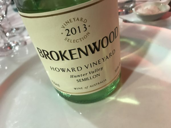 Brokenwood Howard Vineyard Semillon 2013
