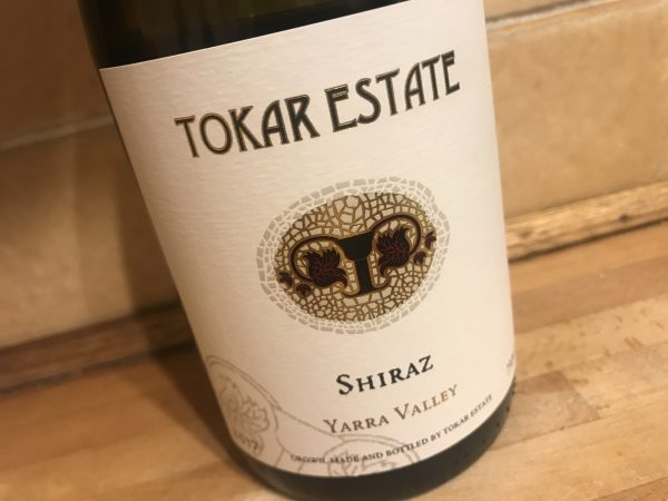 Tokar Estate Shiraz 2017