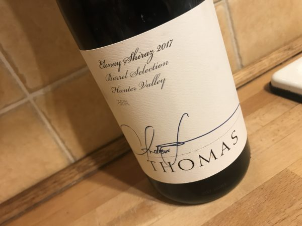 Thomas Wines Elenay Shiraz 2017