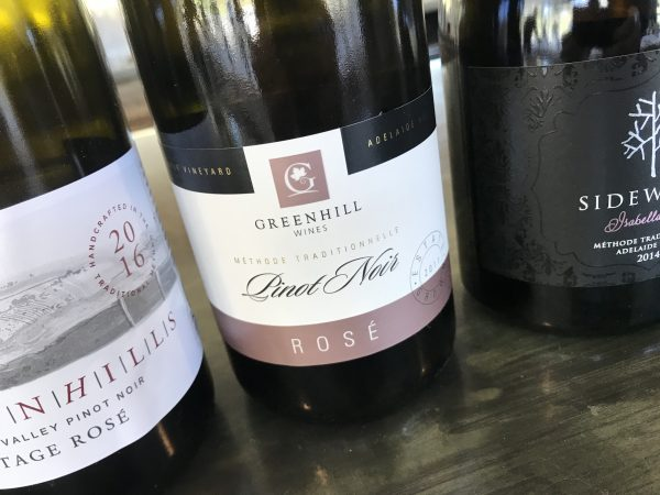 Greenhill Wines Late Disgorged Pinot Noir Rosé 2011