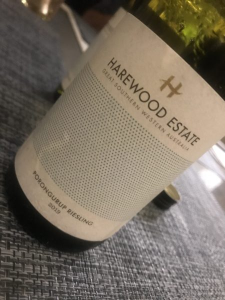 Harewood Estate Porongurup Riesling 2019