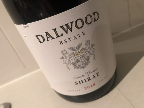 Dalwood Estate Shiraz 2018