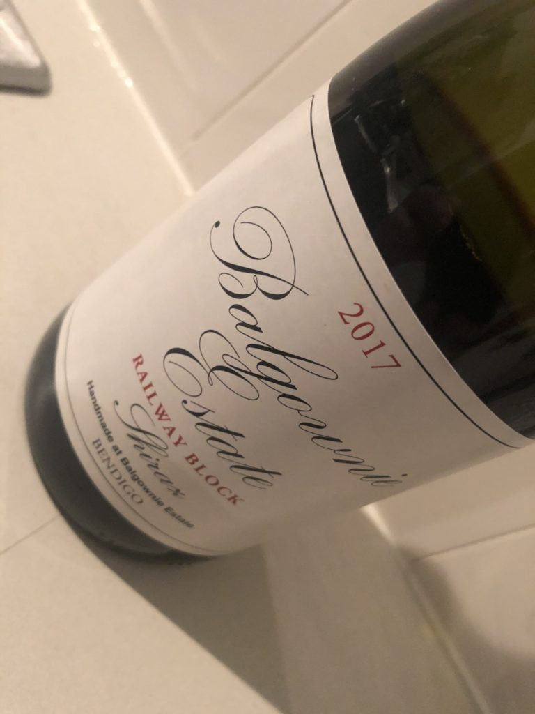 Balgownie Estate Railway Block Shiraz 2017