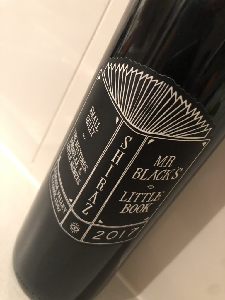 Small Gully Mr Blacks Little Book Shiraz 2017