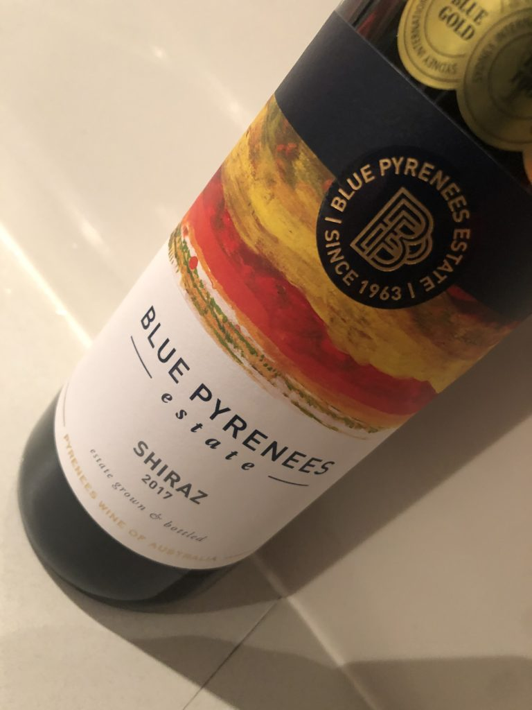 Blue Pyrenees Estate Shiraz 2017
